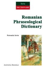 Petronela Savin, Romanian Phraseological Dictionary. The Onomasiological Field of Human Nourishment, Iasi, Romania, Institutul European, 2012.